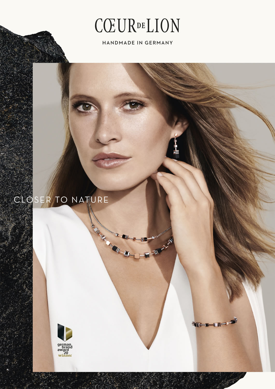 Jewellery - Necklaces Earrings Bracelets - Weybridge Jewellers - COEUR DE LION Autumn Winter Season 2020